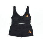 Black ladys set orange logo
