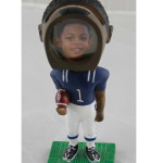 Bobble head Photo Football man