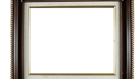 Brown Wood Picture Frame