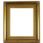 Gold Wood Picture Frame