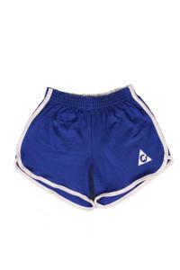 Ladys Blue Logo Shorts
