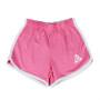 Ladys Pink logo shorts