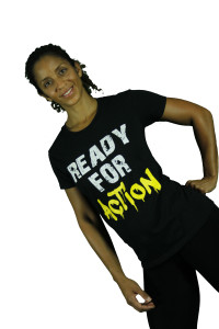 Ready for action shirt yel
